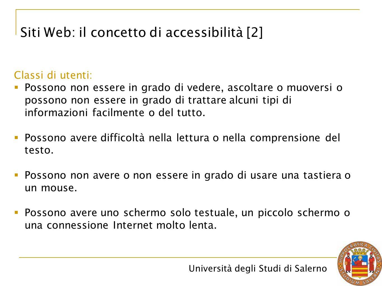 Siti Web: il concetto di accessibilità [2]